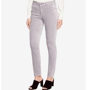 Ann Taylor tall gray skinny modern fit jeans